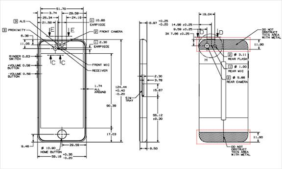 Схема iPhone 5c