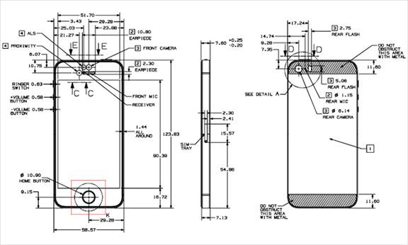 Схема iPhone 5s
