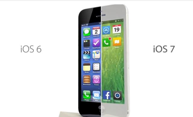 iOS6 против iOS7