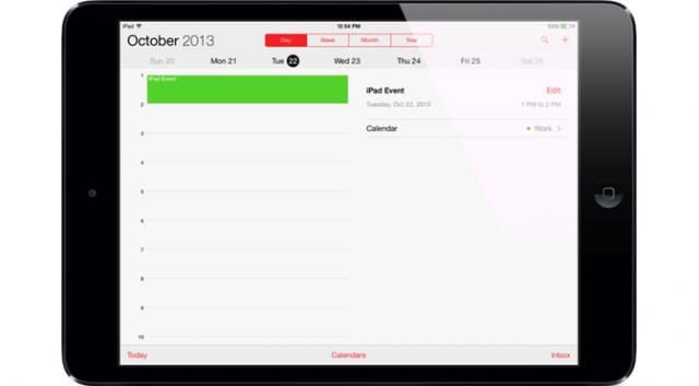Релиз новых iPad состоится 1 ноября