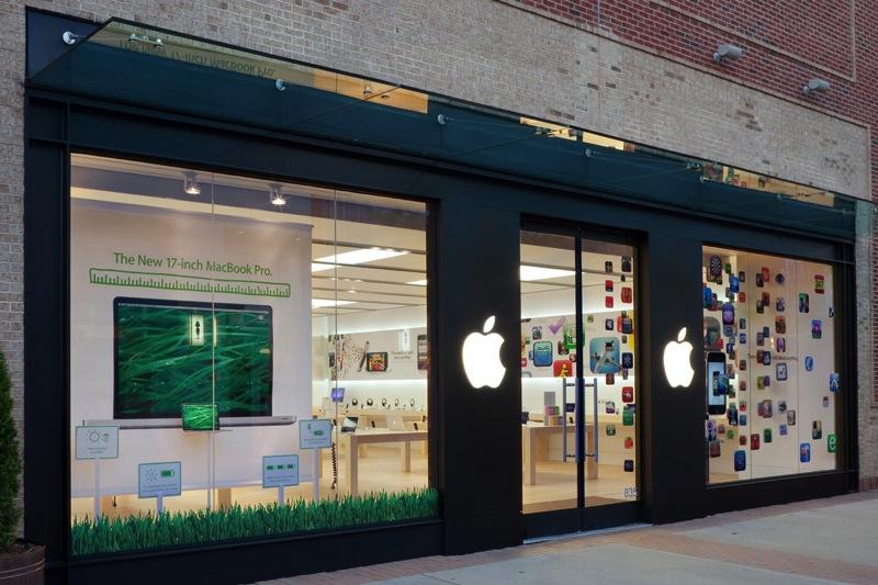 Открытие магазинов Apple утром в Черную пятницу