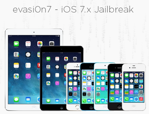 Джейлбрейк iOS 7.x с помощью envasi0n7