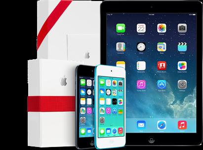 iPad Air и iPad mini с дисплеем Retina