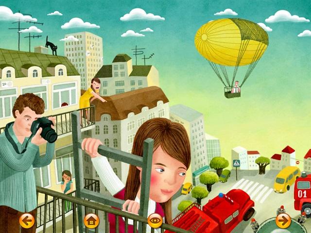 Мама спешит домой - интерактивная детская книга от Glowberry