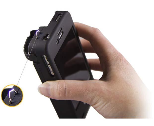 multifunctional-case-Yellow-Jacket-Stun-Gun-iPhone-case