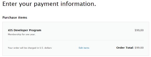 Как зарегистрировать аккаунт разработчика Apple?