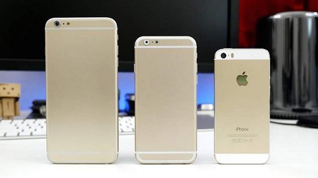 4,7-дюймовый iPhone 6начнут производить виюле, 5,5-дюймовый вавгусте
