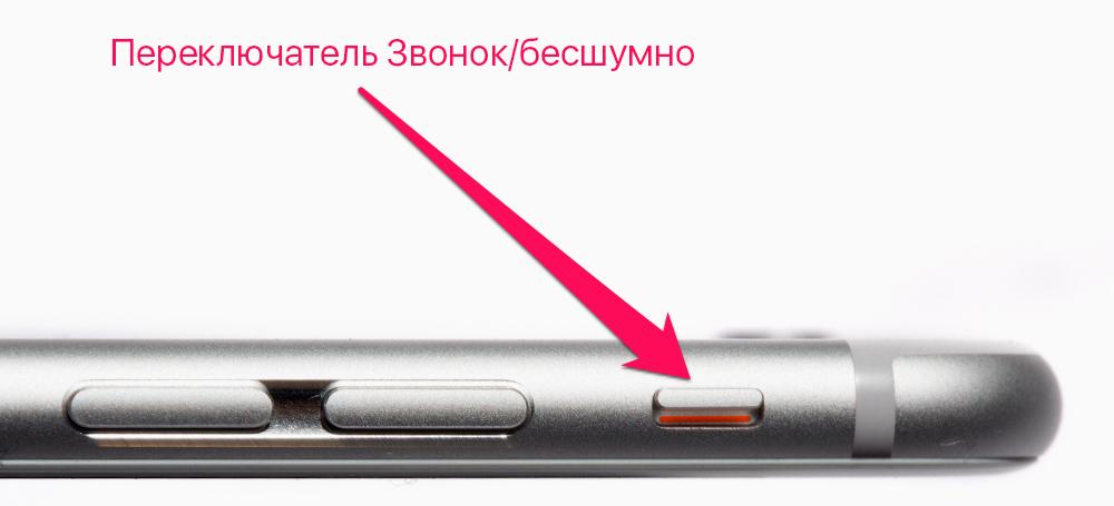 Как отключить звук камеры iPhone?