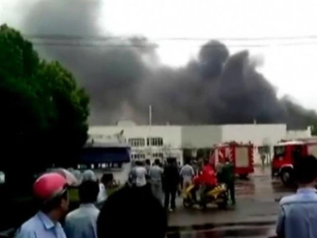 Из-за взрыва назаводе вКитае iPhone 6может выйти позже намеченного срока