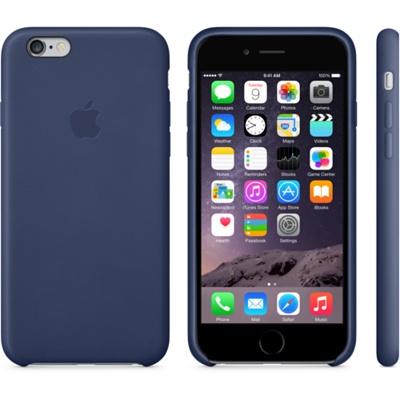 Темно-синий кожаный чехол для iPhone 6 и iPhone 6 Plus