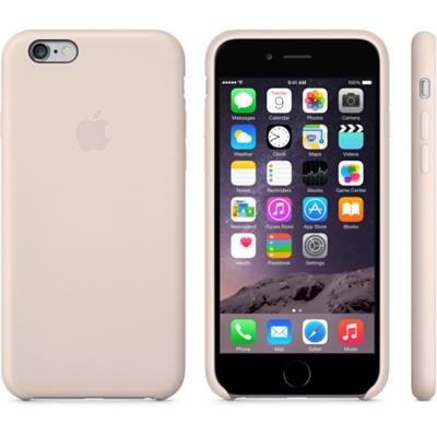 Бледно-розовый кожаный чехол для iPhone 6 и iPhone 6 Plus