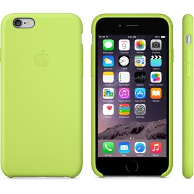 Зеленый силиконовый чехол для iPhone 6 и iPhone 6 Plus