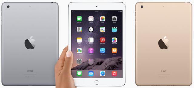 iPad mini 3получил Touch IDи... все