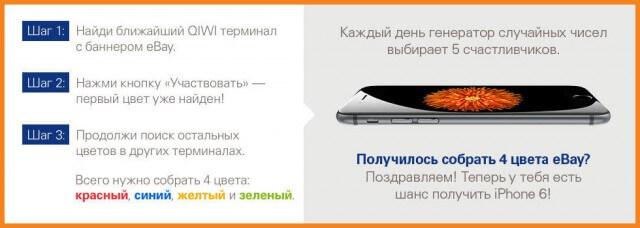 Условия конкурса. Выиграй iPhone 6