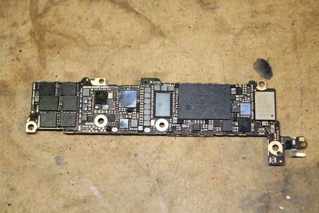 iphone 5 замена контроллера