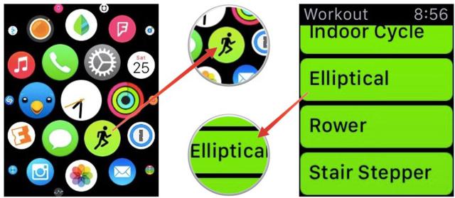 Как отслеживать тренировки наApple Watch?