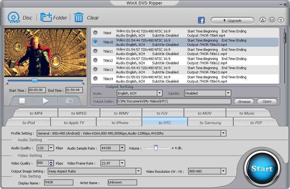 Бесплатный «DVD-риппер» для Mac иWindows: извлекайте содержимое сDVD ипроигрывайте его наiPhone, iPad иAndroid