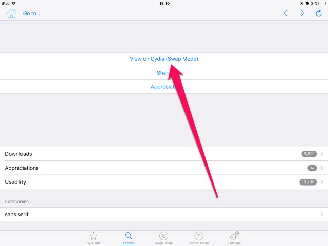 Как поменять системный шрифт наiPhone иiPad под управлением iOS9 (Cydia)
