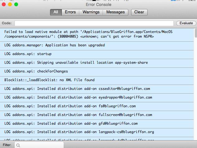 Java Script Console