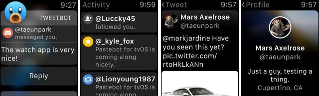 Известный Twitter-клиент Tweetbot теперь работает на Apple Watch
