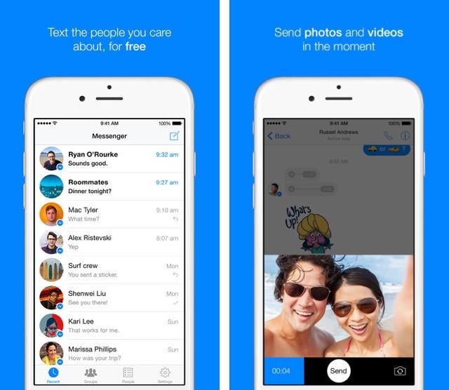 Facebook Messenger для iOS теперь с поддержкой 3D Touch