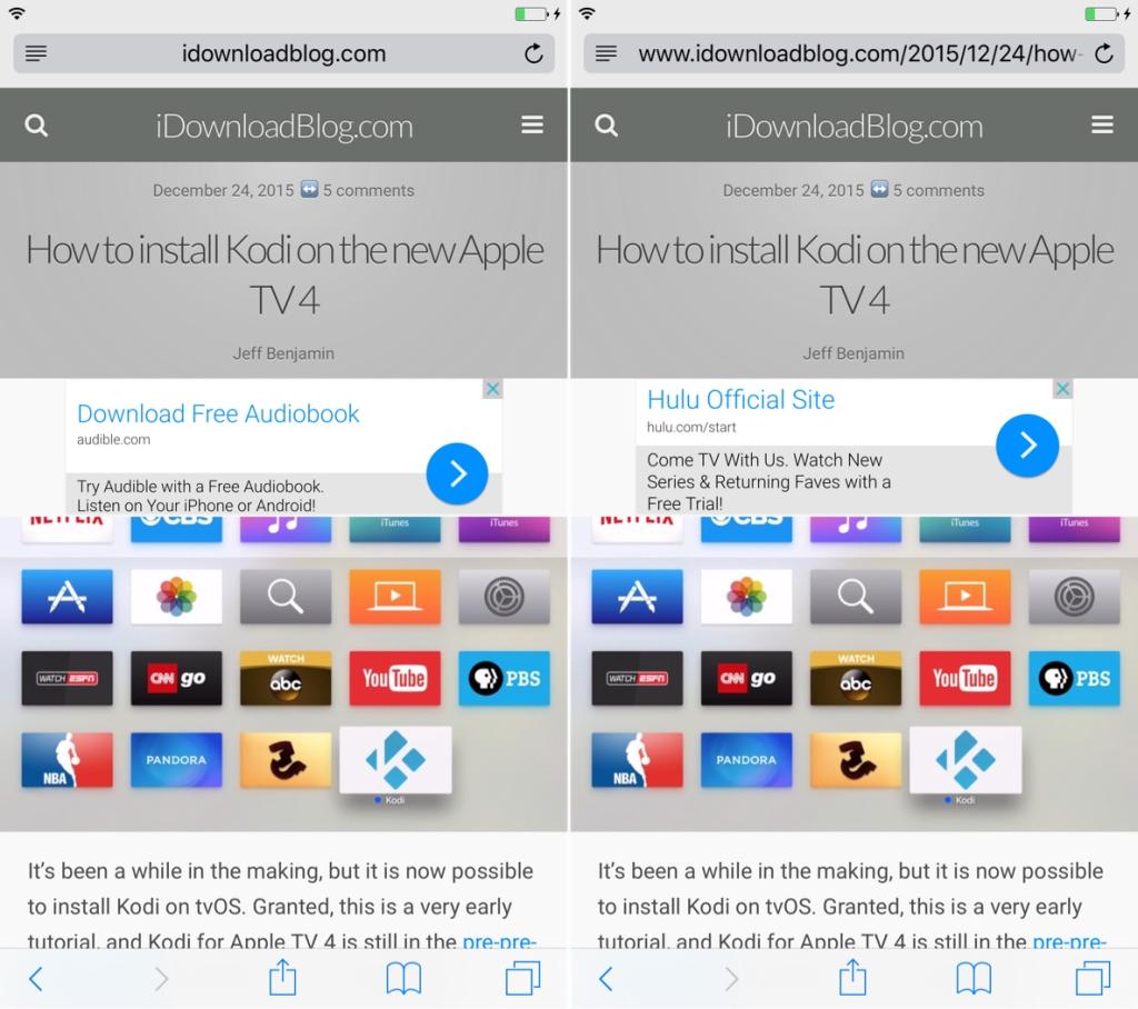 Джейлбрейк-твик SafariBeBetter делает браузер Safari лучше