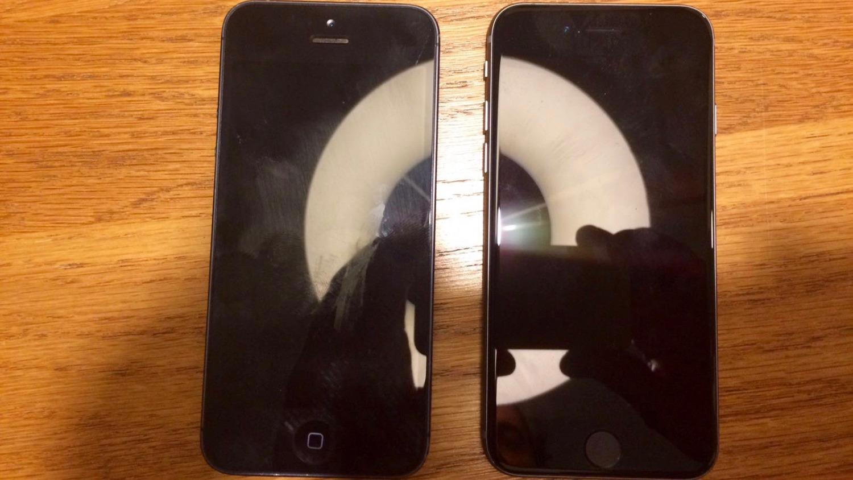 iPhone 5 vs. iPhone 5SE