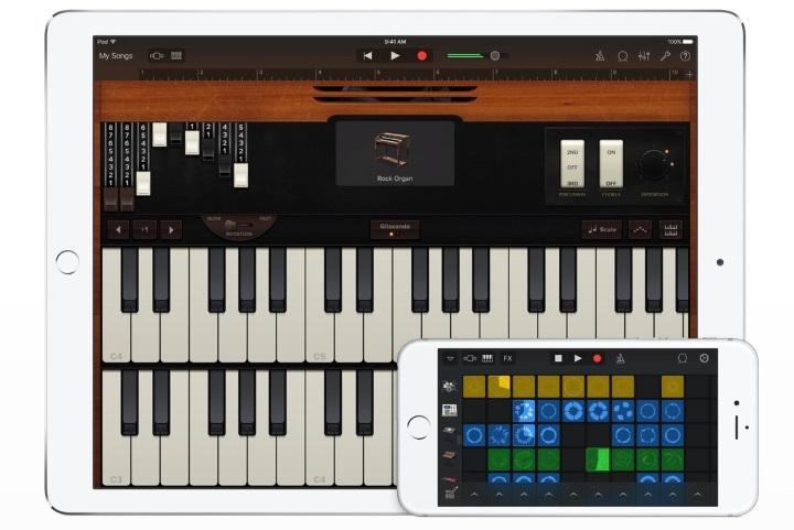 Apple выпустила новую версию GarageBand