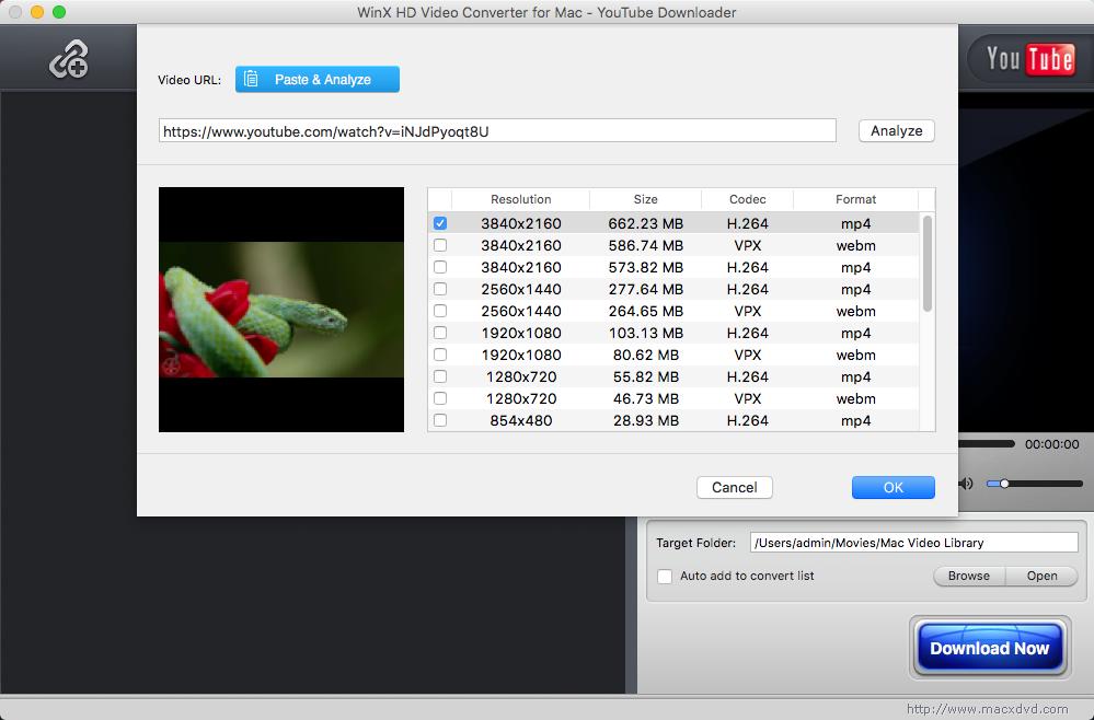 Обзор WinX HD Video Converter for Mac