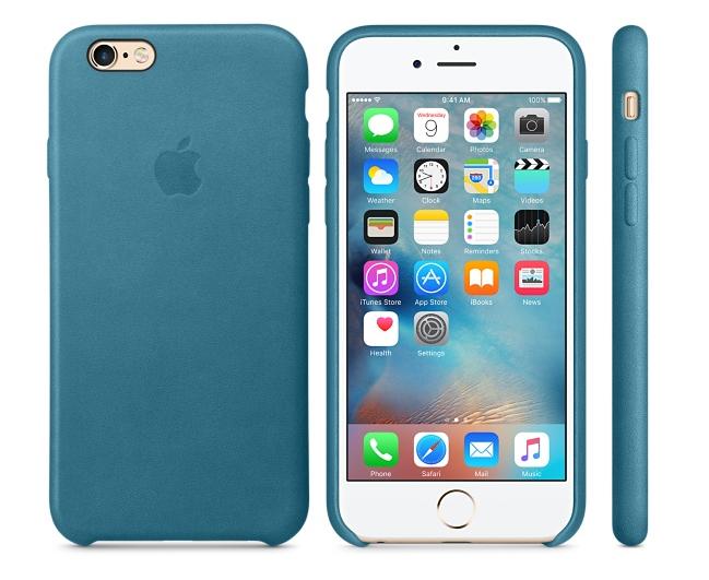 Apple выпустила новые силиконовые икожаные чехлы для различных моделей iPhone