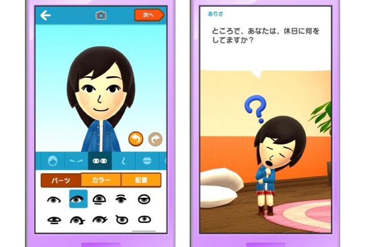 Miitomo, первая мобильная игра Nintendo, выйдет вяпонском App Store 17марта