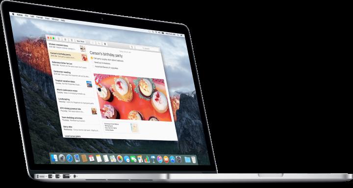 OSX10.11.4El Capitan доступна для загрузки