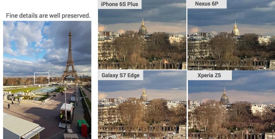 Samsung Galaxy S7 побил iPhone 6s в фотобитве