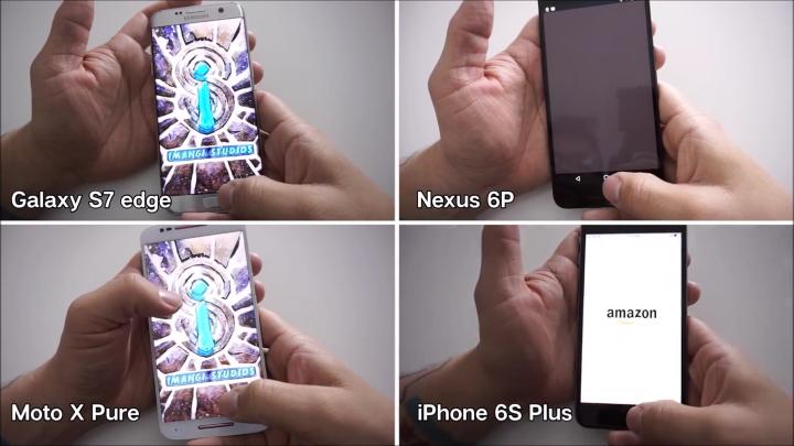 iPhone 6sPlus оказался быстрее Galaxy S7edge