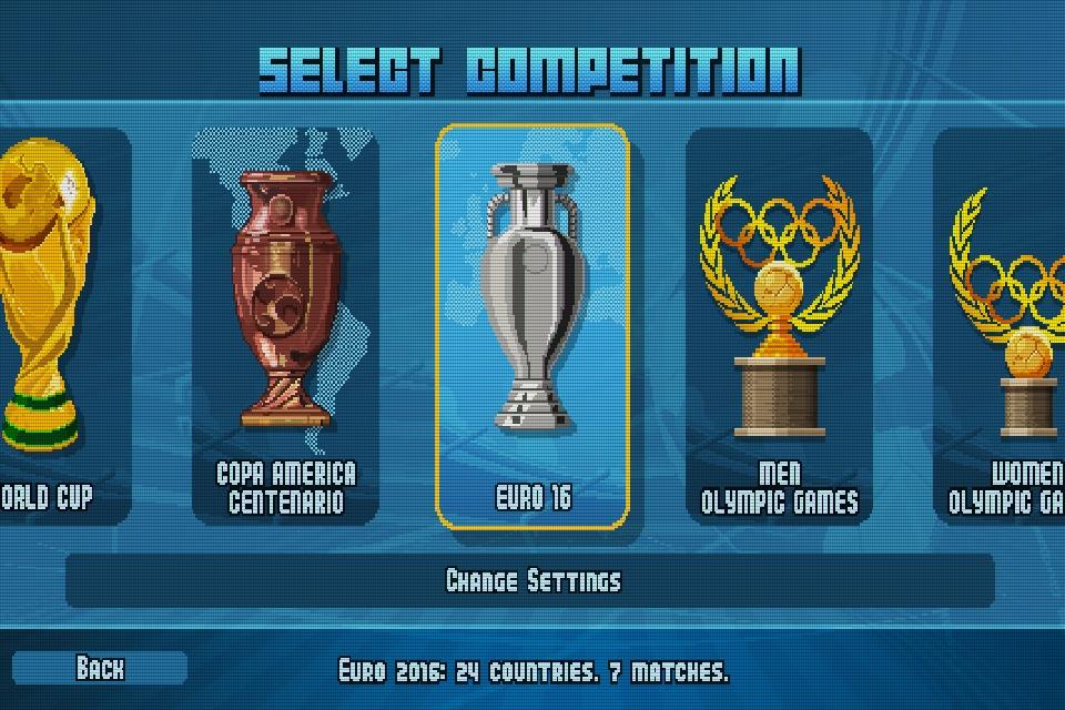 Пиксельный футбол Pixel Cup Soccer 16 — бесплатное приложения дня