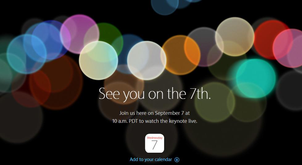 Как посмотреть презентацию iPhone 7