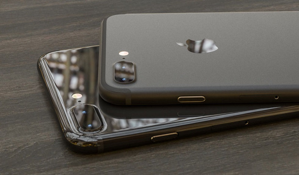 Как будет выглядеть iPhone 7Plus вновых черных цветах