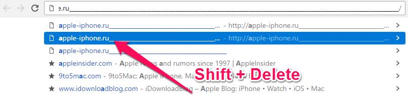 Как удалить подсказки вадресной строке Google Chrome наWindows иMac