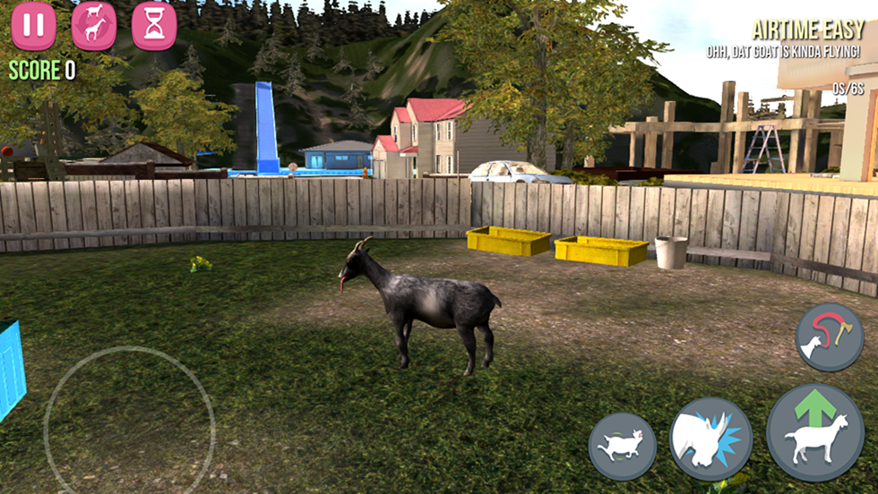 [Находка дня]— бесплатный «Симулятора козла» для iPhone иiPad
