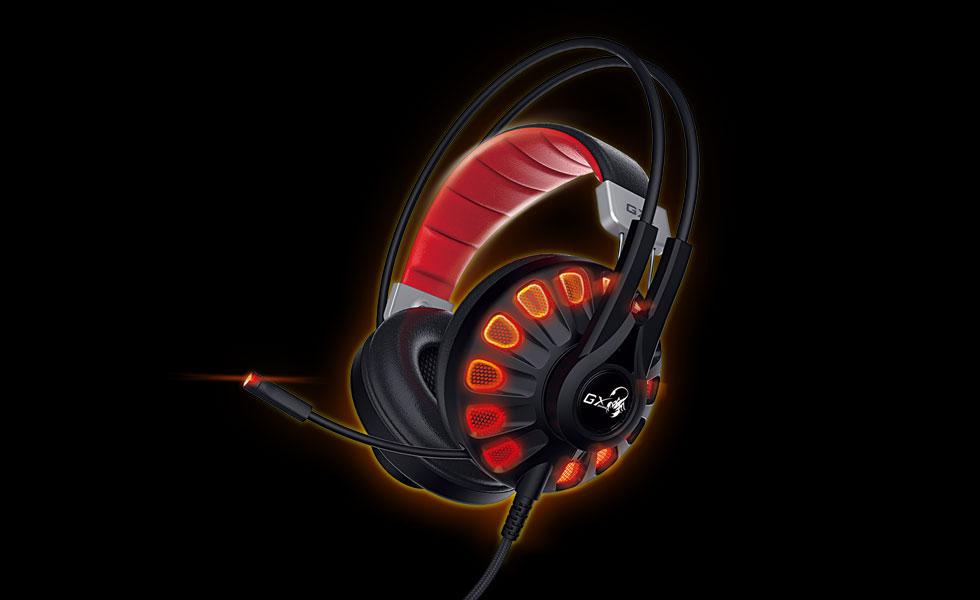 Genius представила игровую гарнитуру HS-G680 со звуком 7.1