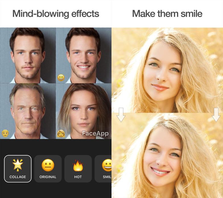 [Находка дня]— приложение FaceApp, которое добавит улыбку налюбое фото