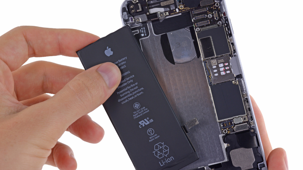 замена аккумулятора iphone 6s алматы