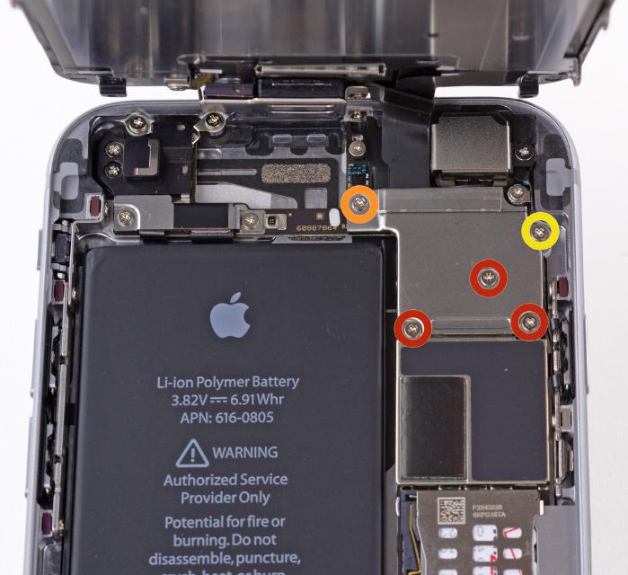 Как заменить аккумулятор на iPhone 6
