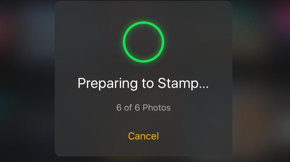 Как поставить дату нафото наiPhone
