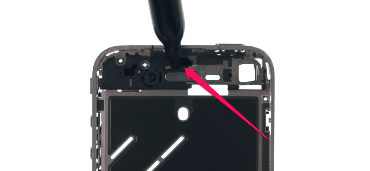 iphone 7 датчик приближения не работает
