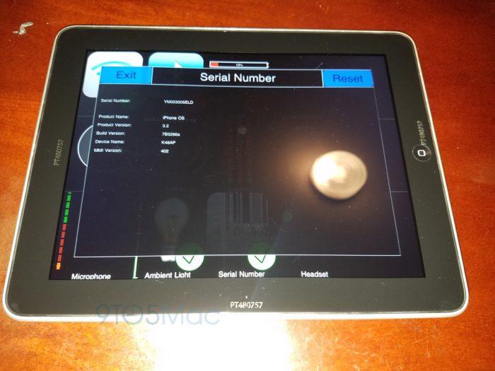Фотографии прототипа первого iPad