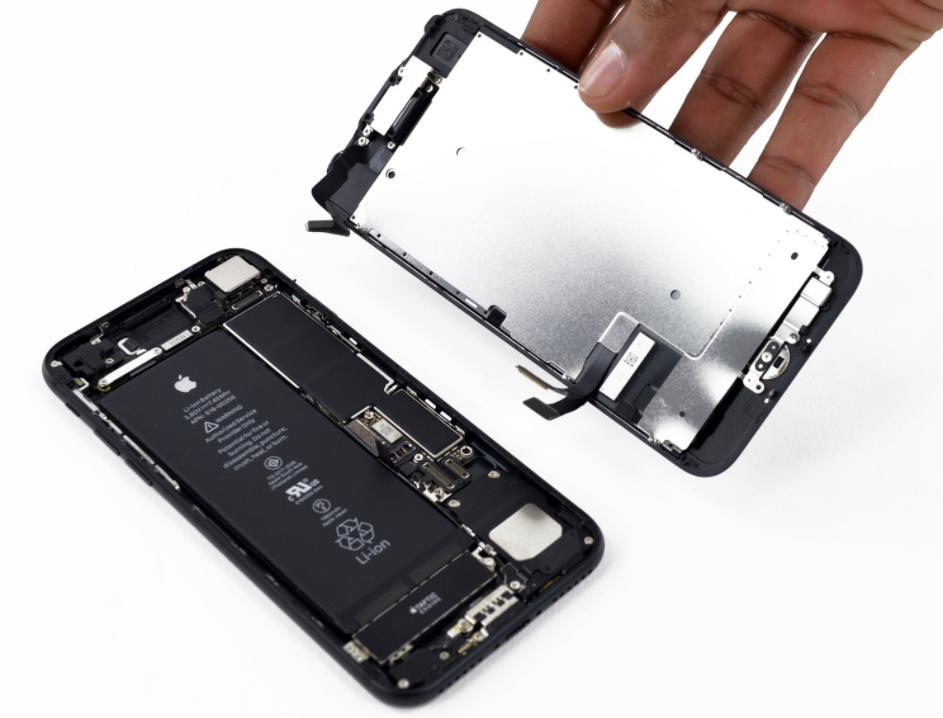 замена аккумулятора iphone 7 своими руками