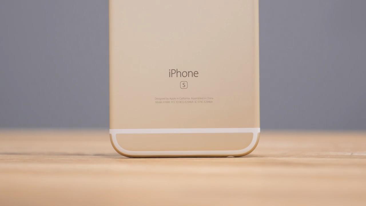 Обзор iPhone 6s